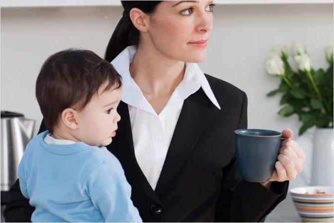 Увольнение без отработки при необходимости ухода за ребенком